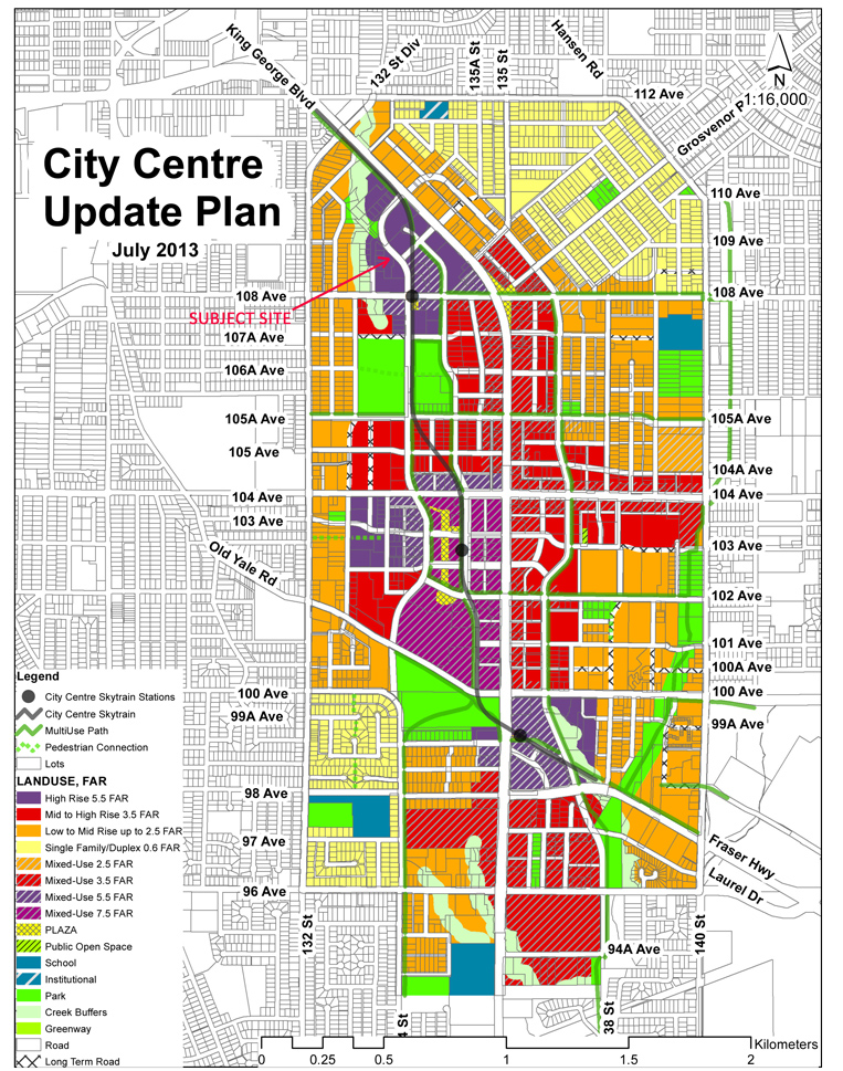CityCentre_LandUse_With_With_Lots_July_2013-subject-site.