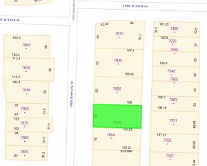 7878 Granville map