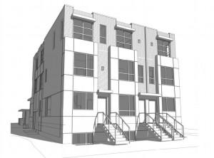 2433 w broadway exterior sketch