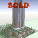 JUST SOLD – Already rezoned highrise development site in Surrey City Center