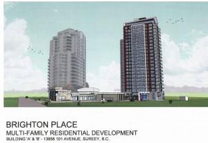 high rise development site for sale surrey